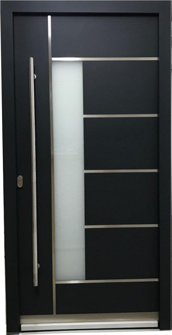 LA40 Auf Lager WH94 Aluminium mit Kunststoff Haustür, Welthaus Türen ...