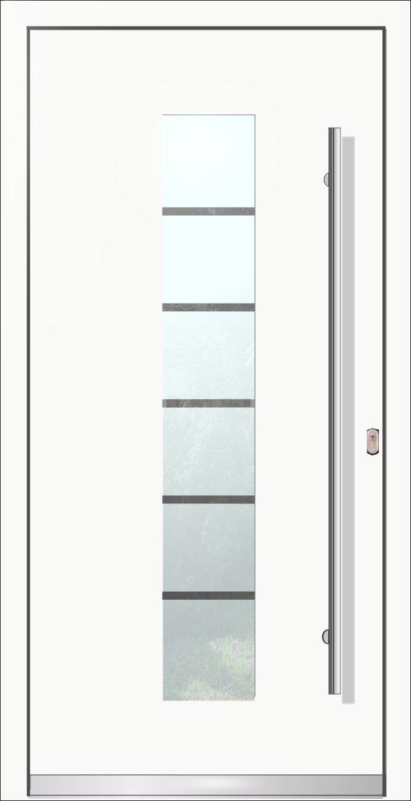 LA201 ALU90 100% Aluminium Komplette Haustür, Welthaus Türen shop ...