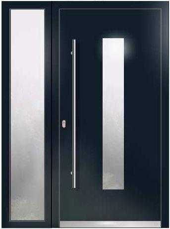 Haustür LA20+1 Seitenteil WH75 Aluminium Mit Kunststoff, Welthaus Türen  Shop Welthaus Haustüren Aluminium Türen